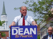President McCain Howard Dean Announcement 2003