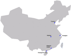French Concessions China (TNE)