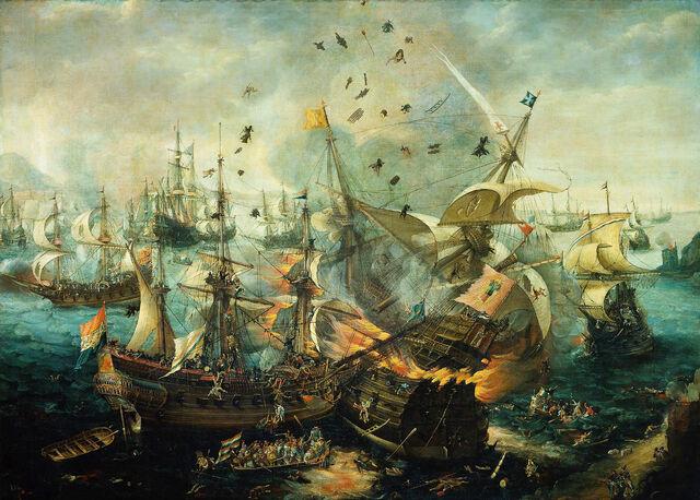 File:Battle of Gibraltar 1607.jpg