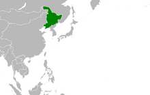 Location of Manchuria (Myomi)