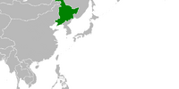 Manchuria (Cherry, Plum, and Chrysanthemum)