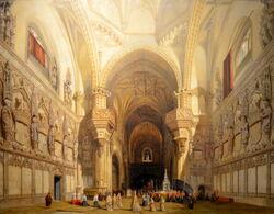 Intérieur de la cathédrale Saint-Jean-des-Rois de Tolède