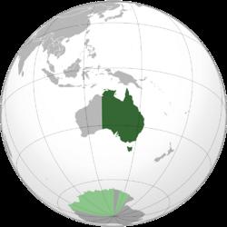 Australia Orthographic DownDifPath