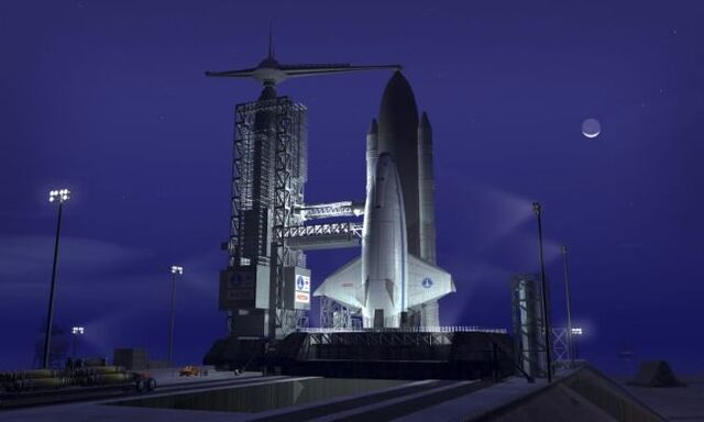 File:616051 A-futuristic-space-shuttle-awaits-launch.jpg
