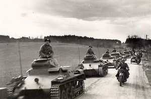 Invasion of CSR - 3rd Panzer Division in northern Moravia (WFAC)
