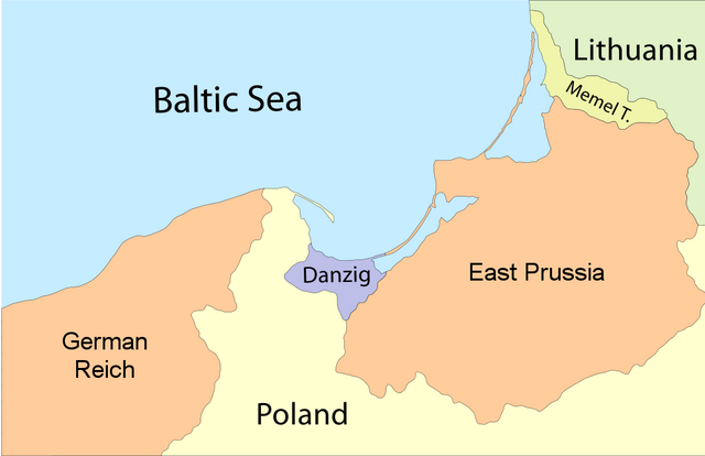 File:East Prussia Borderlines.png