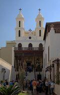 320px-Kairo Hanging Church BW 1