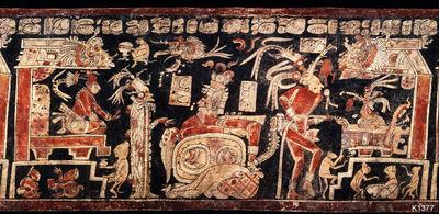 Diplomacy between maya