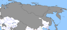 Map of East Russia (1861 HF)