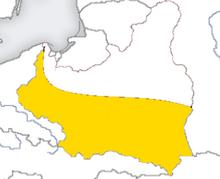 Communist Union of Polish Nationalists Map