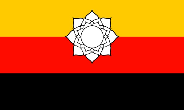 File:Flag of Niedersachsen (Satomi Maiden ~ Third Power).png