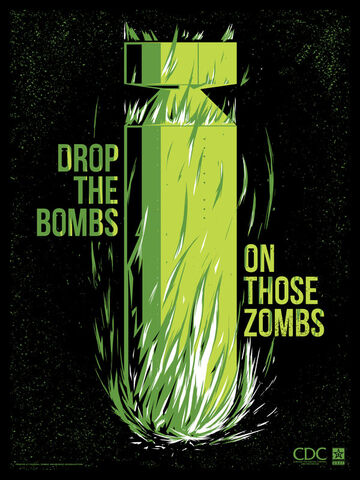 File:Zombie propaganda drop the bombs by ron guyatt-d5glaur.jpg