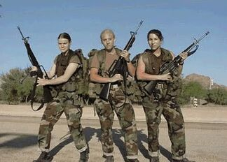 Female Officer trainees