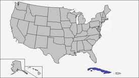 Location of Cuba (Coin Toss)