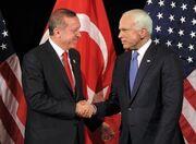 McCain and Erdogan