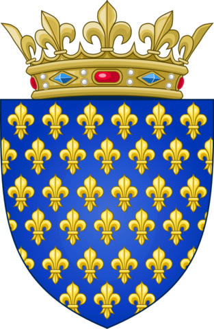 File:Arms of the Kingdom of France (Ancien).png