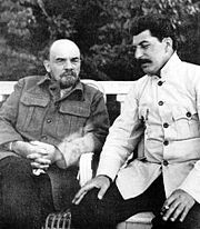 180px-Lenin and stalin crop-1-