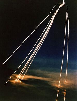German V-7 missiles