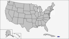 Location of Puerto Rico (Coin Toss)