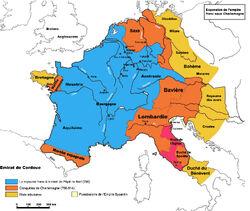 Empire carolingien 768-811