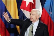 President McCain Cuba