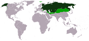 Map Russian Empire