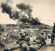 Japanese troops in China