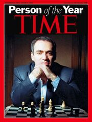 Kasparov person of the year