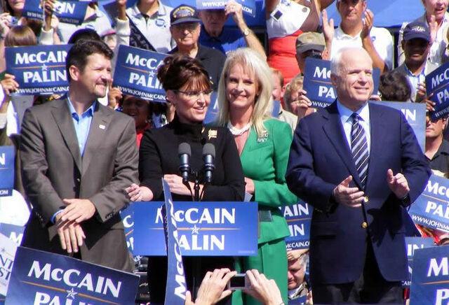 File:McCain Palin campaign 2008 in Fairfax Virginia.jpg
