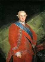 438px-Carlos IV de rojo