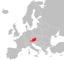 Location of Austria (The Big Mistake)