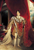 George IV 1821 color