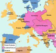 Europe before WW1