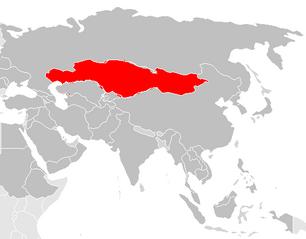 Asia Map Plain-1-