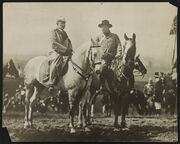Teddy Roosevelt and Wilhelm II