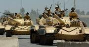 Iraqi T-72 tanks