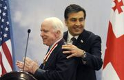 McCain receives Order of the National Hero of Georgia
