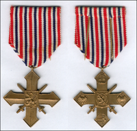 Czechoslovak War Cross 1938-39