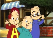 Chipmunks wave