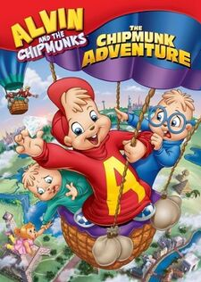 The Chipmunk Adventure 2008 DVD Cover