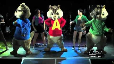Alvin and The Chipmunks Chipwrecked Concert Event