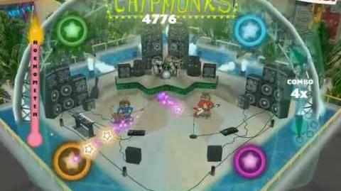 Tubthumping (I Get Knocked Down) - Alvin and the Chipmunks Video Game