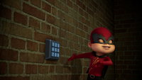 Alvin and Keypad in Basement