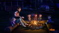 Auggy, The Chipmunks, and The Chipettes Around Fire.png