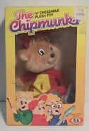 Chipmunks ideal plush alvin