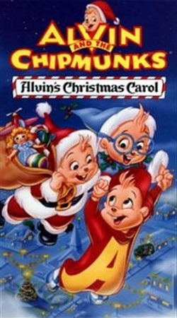 Alvin's Christmas Carol (VHS) | Alvin and the Chipmunks Wiki ...