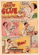 Clyde Crashcup Dell Comic 3 - Invents Glue