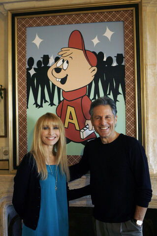 File:Janice & Ross With 60s Alvin.jpg