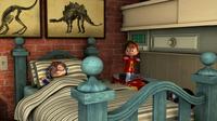 Alvin Breaking Into Simon's Safe