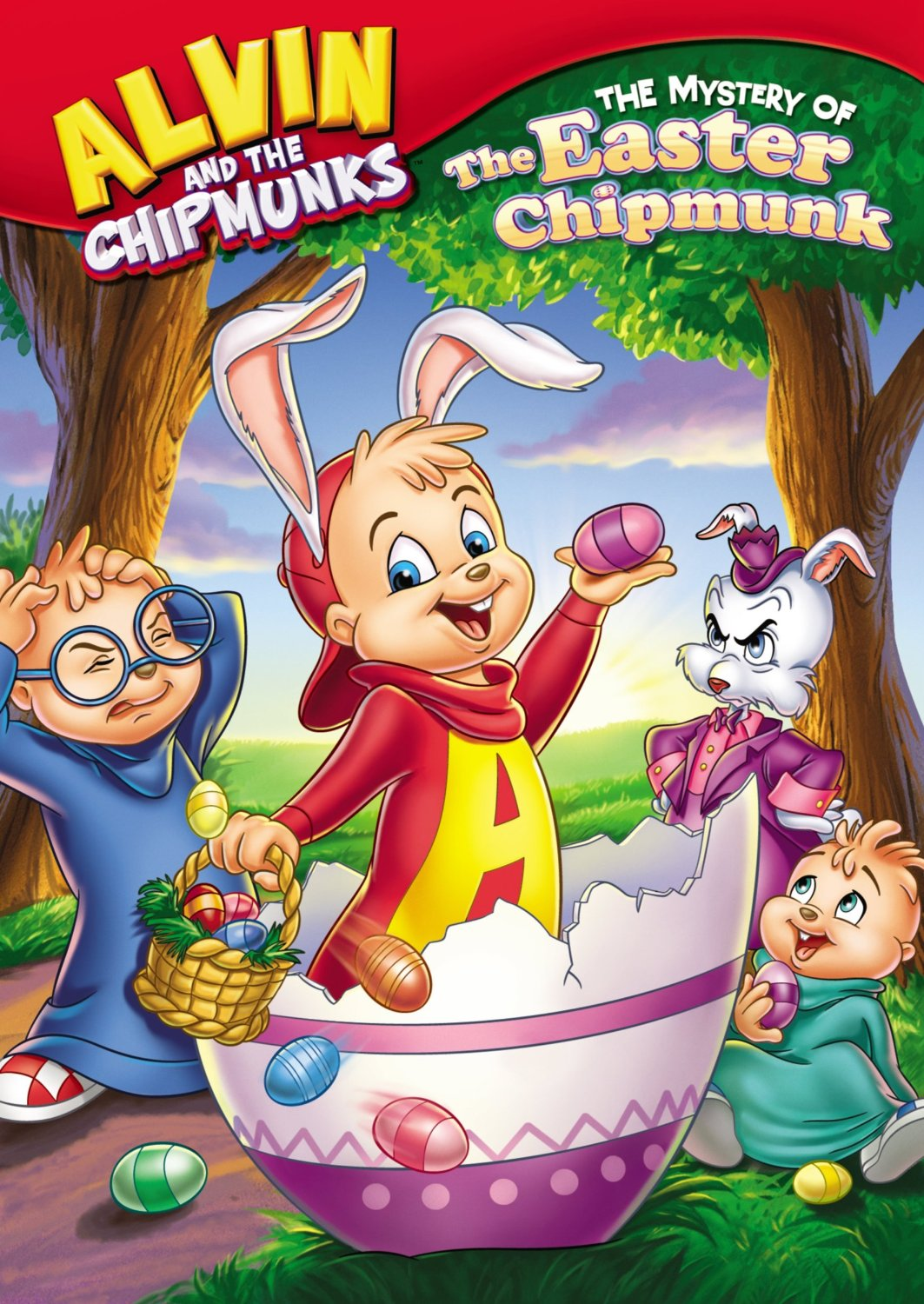 The Mystery Of The Easter Chipmunk Dvd Alvin And The